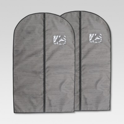 Garment Bag Gray Birch 2pk - Threshold™