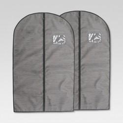 Garment Bag Gray Birch 2pk - Threshold™