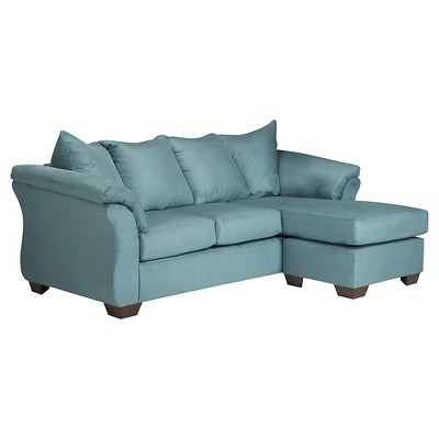 Darcy Sofa Chaise   Sky   Signature Design By Ashley