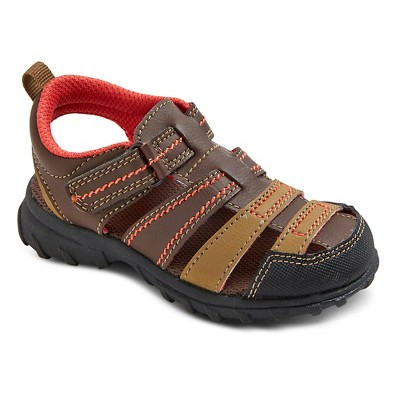 Toddler Boys' Christopher Fisherman Sandals - Just One You™ Made by Carter's® Brown 6