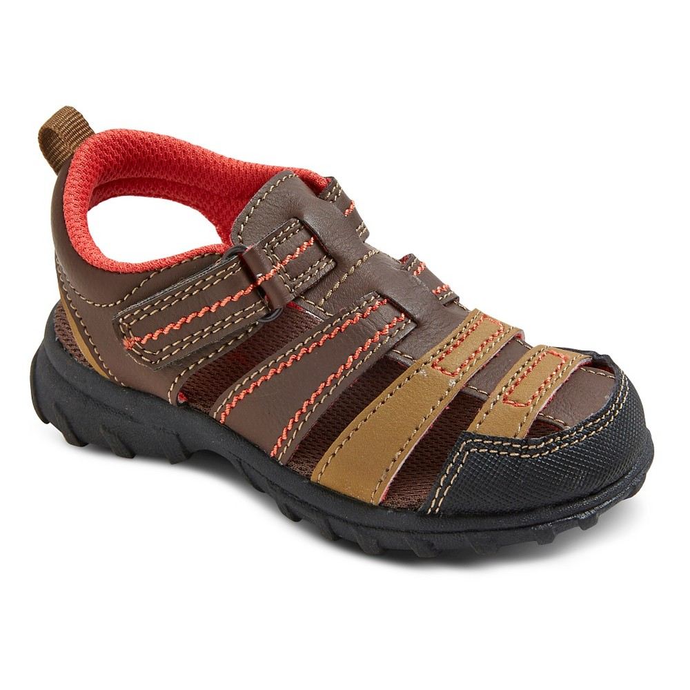 Toddler Boys Christopher Fisherman Sandals - Just One You Made by Carters Brown 7