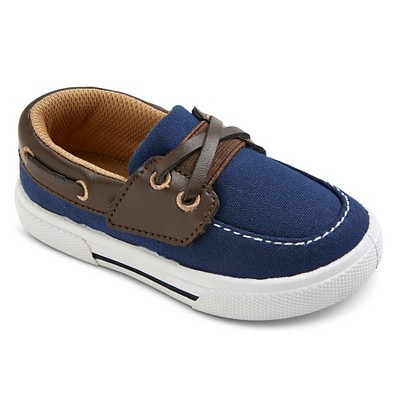 Toddler Boys' Cameron Boat Shoes - Just One You™ Made by Carter's® Navy 5