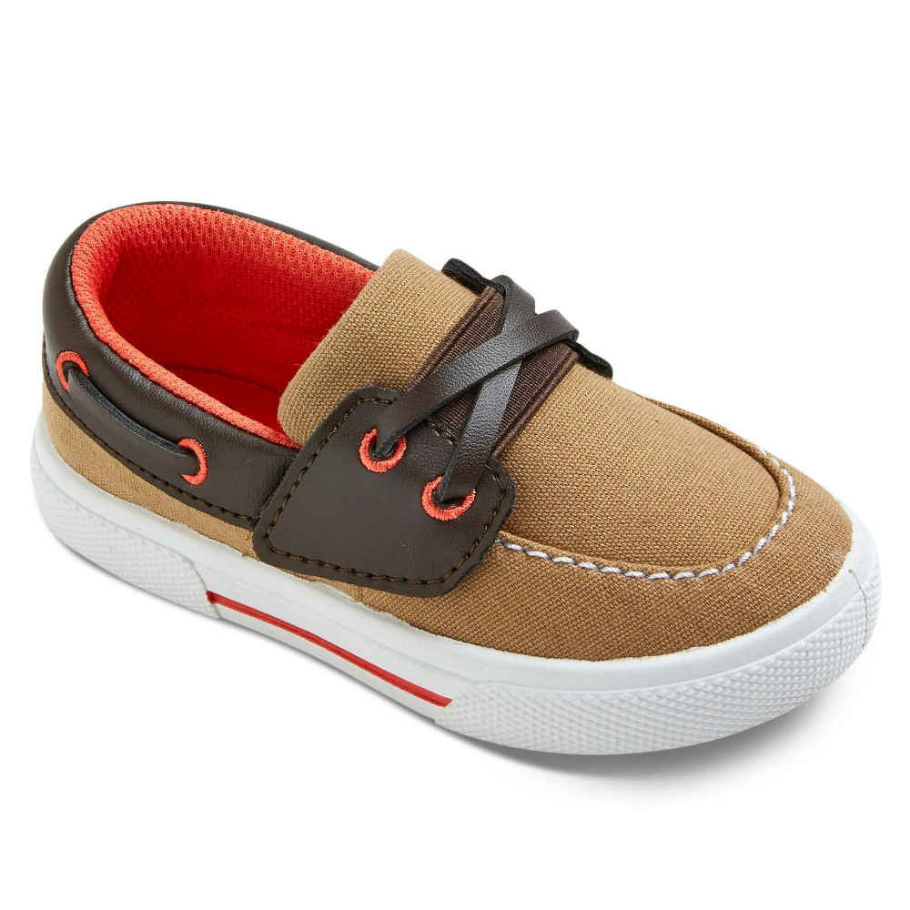 Toddler Boys Cameron Boat Shoes - Just One You Made by Carters Tan 10
