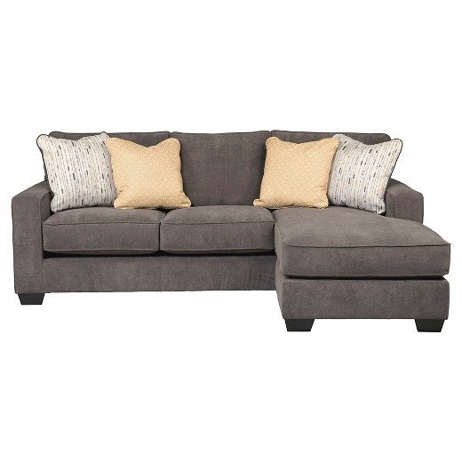 Hodan sofa chaise marble signature design by ashley target for Ashley brown sofa chaise