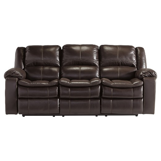 Ashley Furniture Sofa long knight reclining sofa - ashley furniture : target