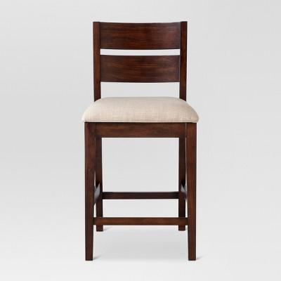 Parsons Slat Back 24  Counter Stool Linen Seat - Threshold™