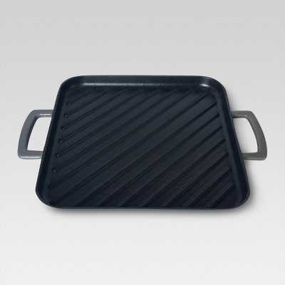 10 inch square griddle pan - Gray - Threshold™