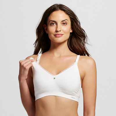 Cache Coeur Signature Organic Cotton Nursing Bra - Natural L, Women's