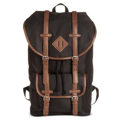Men's Utility Backpack Black One Size - Merona™