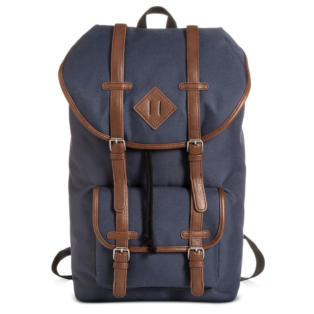 Men's Utility Backpack Navy One Size - Merona,  Blue