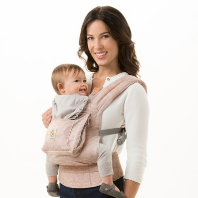 Ergobaby Organic Ergonomic Multi-Position Baby Carrier - Rose Harmony