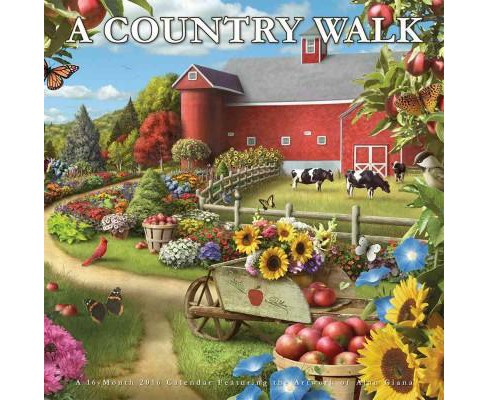 Country Walk 2016 Calendar (Paperback) - image 1 of 1