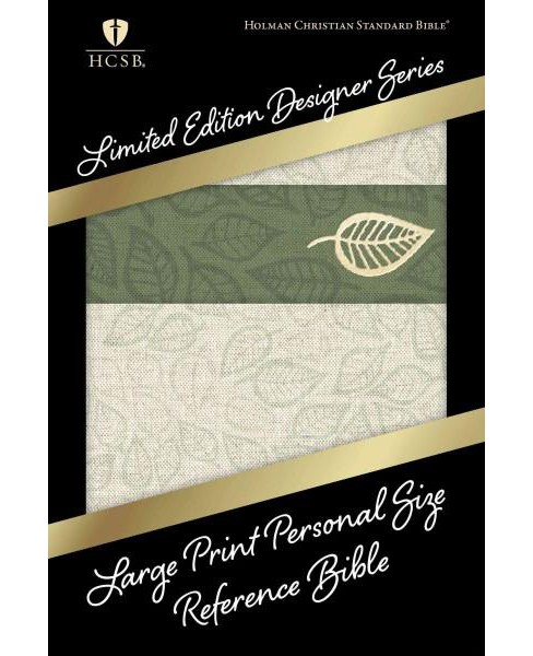 Holy Bible : Holman Christian Standard Bible, Sage Leaf Linen, Personal Size Reference (Large Print) - image 1 of 1