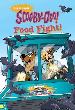 Scooby-Doo! in Food Fight! (Library) (Sonia Sander)