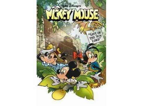 Mickey Mouse : Gift of the Sun Lord (Paperback) (Andrea Castellan) - image 1 of 1