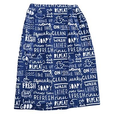 Bath Wrap Blue - Room Essentials™