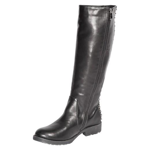 Women's Gia-Mia Dance Corps Knee High Studded Tall Boots : Target