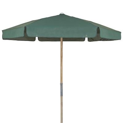 FiberBuilt 7.5u0027 Patio Umbrella Forest Green
