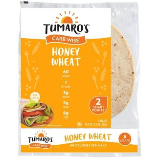 Tumaro's Low Carb Honey Wheat Tortillas - 8-inch