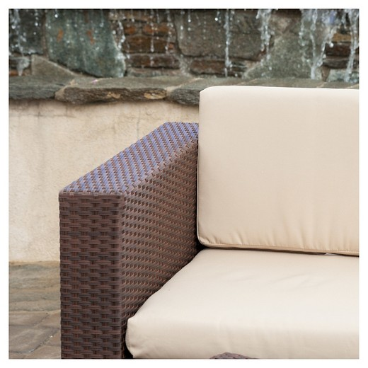 Christopher Knight Home Murano Piece Wicker Patio Sofa Set Target