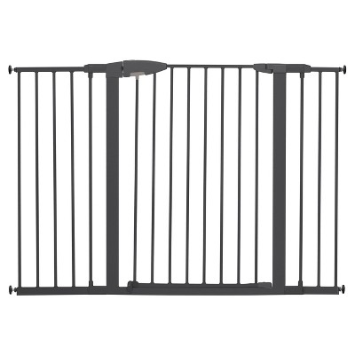 Munchkin® Easy Close Tall & Wide Metal Baby Gate Silver Gray - 29.5-54.0