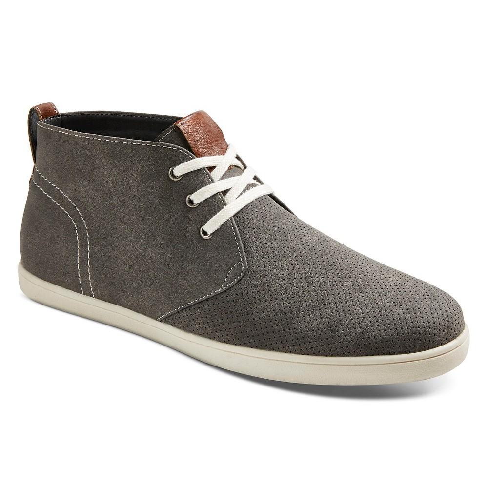 Mens SoHo Cobbler Reece Boat Shoes - Gray 7