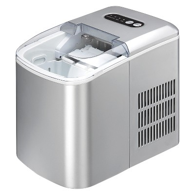 Sunpetown Portable Ice Maker   Silver