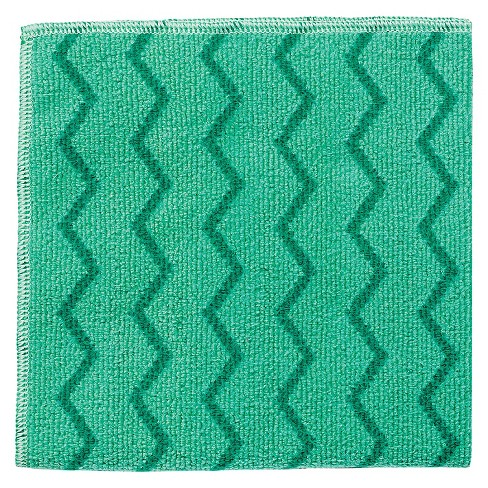 Rubbermaid® Commercial Reusable Green Cleaning Cloths-12 ct - image 1 of 1
