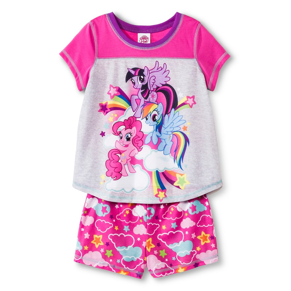 My Little Pony Girls' Pajama Set - Pink 6
