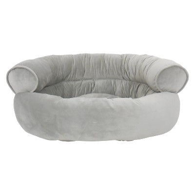Canine Creations Orthopedic Comfy Couch Pet Bed Silver