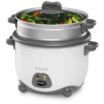 West Bend 12-Cup Rice Cooker and Vegetable Steamer