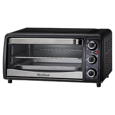 West Bend 6-Slice Countertop Convection Toaster Oven