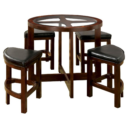 miBasics 5pc Glass Table Top Circle Dining Table Set Wood  : 50402070wid520amphei520ampfmtpjpeg from www.target.com size 520 x 520 jpeg 43kB