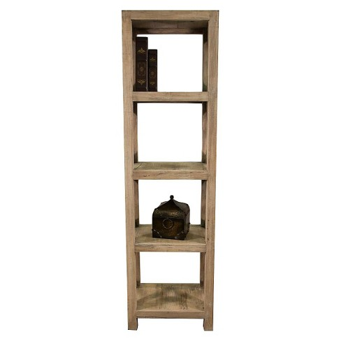 Promenade Tall Bookcase Brown - Jeffan - image 1 of 6