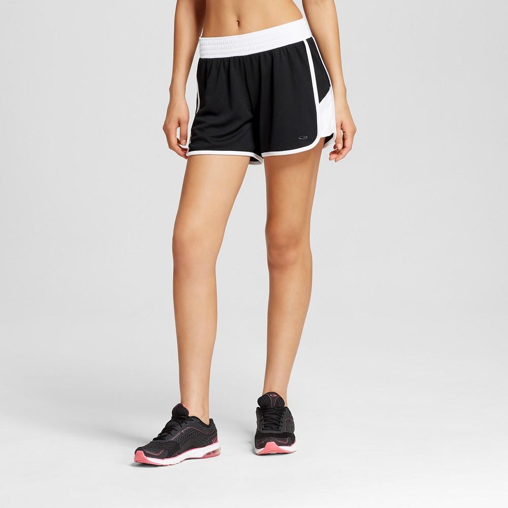 Womens Sport Shorts - White/Black M - C9 Champion