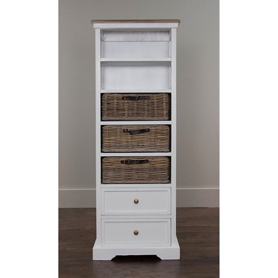 simone tall bookcase white jeffan