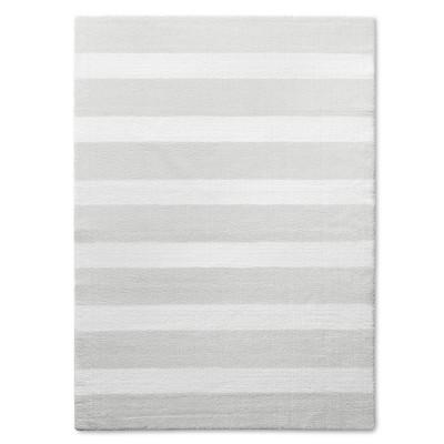 Stripe Area Rug Gray 5'x7' - Pillowfort™