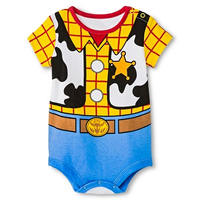 Disney Baby Boys' Woody Bodysuit Yellow NB