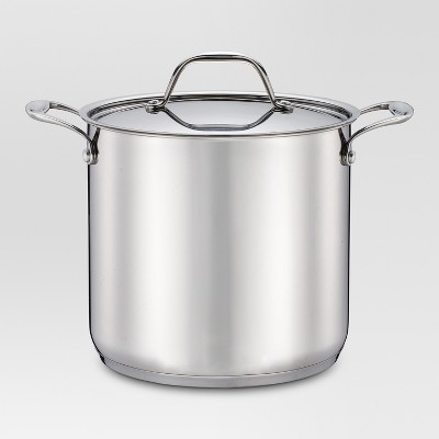 6 qt Stainless Steel Stockpot - Threshold™