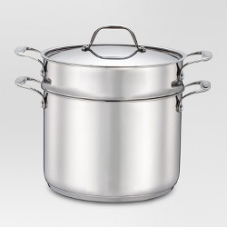 8 qt Stainless Steel Pasta Pot - Threshold™