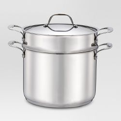 As Seen On Tv 174 Copper Pasta Boiler Pot Red Target