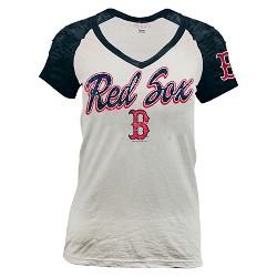 Boston Red Sox Women's Burnout Raglan T-Shirt