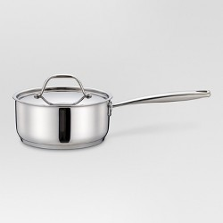 2 qt Stainless Steel Sauce Pan - Threshold™