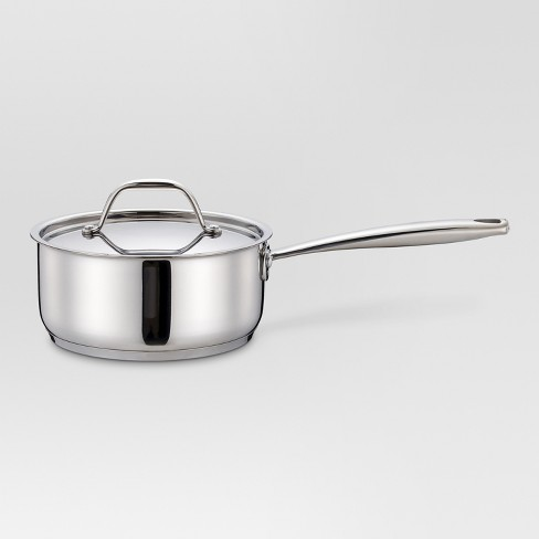 2 qt Stainless Steel Sauce Pan - Threshold™ - image 1 of 1