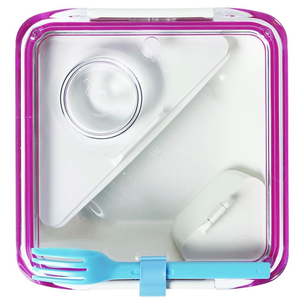 """Black + Blum - Box Appetit – Pink - 7.48: x 7.48""""""""W x 2.17""""""""H"""