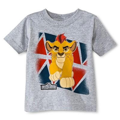 Disney Toddler Boys' The Lion Guard™ T-Shirt - Gray Heather 3T
