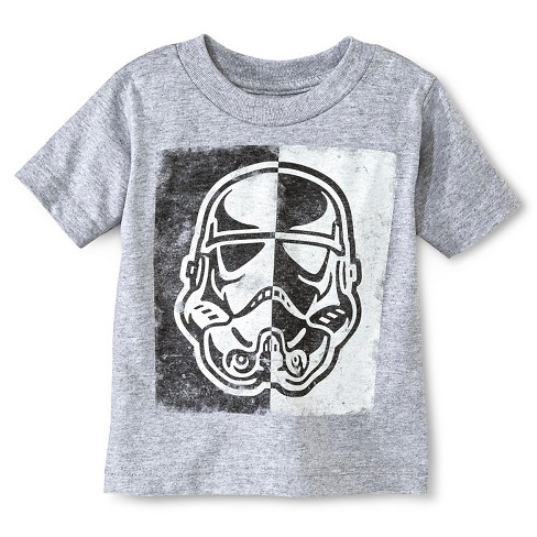 Baby Boys' Star Wars™ T-Shirt - Gray - image 1 of 1