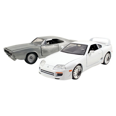 Fast & Furious 1:24 Diecast Twin Pack - 1995 Toyota Supra & 1968 Dodge Charger - image 1 of 5