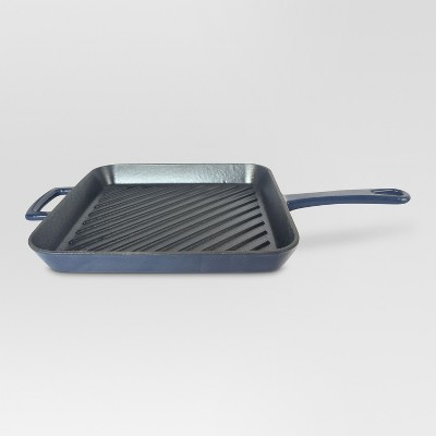 10.5 inch square grill pan - Navy - Threshold™