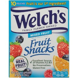Welch's Mixed Fruit Snacks - 9oz - 10ct